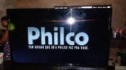 Tv smart  Philips 43  750 reais  passo cartão com juros da máquina
