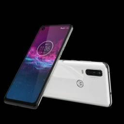Smartphone Motorola Moto One Action 128Gb Lacrado - Nota F - Parcele até 12x Cartão
