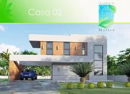 Maricá, Condomínio Gan Éden, Imóveis C/Arquitetura Diferenciada, 3 Suítes Sendo 1 Master