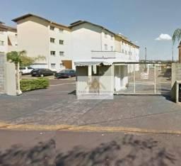 Apartamento com 2 dormitórios para alugar, 60 m² por R$ 550/mês - Ipiranga - Ribeirão Pret