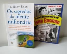 Título do anúncio: As intrépidas aventuras de um Jovem executivo e Os segredos da mente milionária
