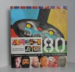 Livro Almanaque anos 80 - Luiz André Alzer e Mariana Claudino - em ótimo esta