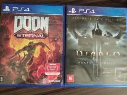 Doom Diablo3 Ps4