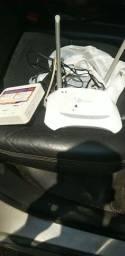 Vendo roteador e modem