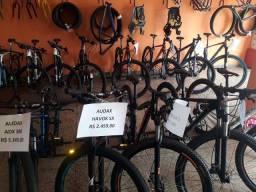 Bikes aro 29 com preço de á vista em até 10x  cartão