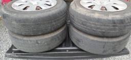 Vendo rodas e pneus 14 4x100