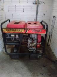 Gerador de Energia à Diesel 5,5kva automatizado