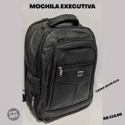 Mochila executiva Couro - Loja PW STORE