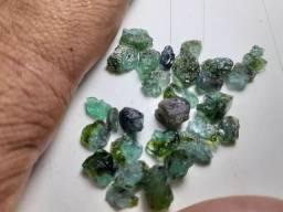 Turmalinas Paraíba verde