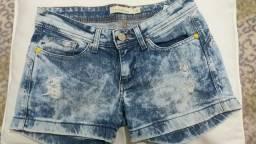 Short Jeans Semi Novo