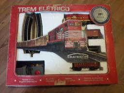 Trem elétrico Frateschi RFFSA 6511, anos 80,raridade.