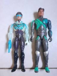 Vendo 2 Bonecos do Max Steel