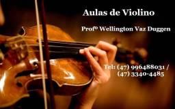 Aulas particulares de Violino