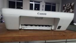 Impressora multifuncional Canon MG2410 com problema de cartucho