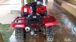 Quadriciclo Honda - TRX Four Trax vermelho