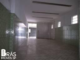 Aluga-se Salão Comercial 120m² no Brás/SP
