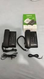 2 Telefones Intelbrás
