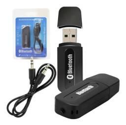 Receptor Adaptador Bluetooth USB P2 Áudio Estéreo (Entrega Grátis)