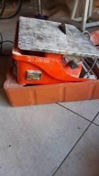 Máquina cortadora de piso portátil com bancada 800