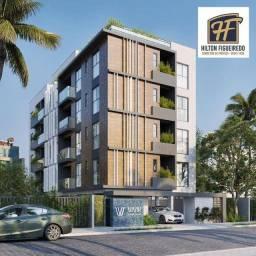 Apartamento com 2 dormitórios à venda, 51 m² por R$ 262.151,19 - Intermares - Cabedelo/PB