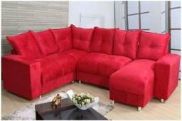 Sofa de canto chaise na promoção de fabrica