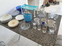 Louças (pratos, copos, etc.)