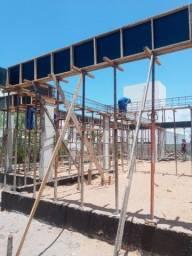 Construção de casa em alto padrão