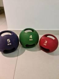 Medicine Ball com alça
