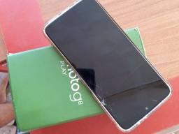 MotoG8 Play Com Caixa