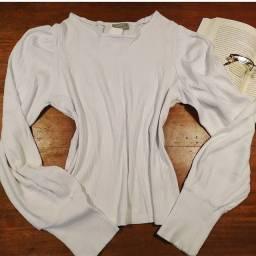 Título do anúncio: Blusa manga comprida mangas bufantes marca chocoleite