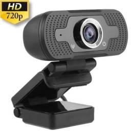 Webcam com Microfone Câmera HD 720P Usb De Computador