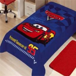 Colcha/manta infantil Disney Pixar, aveludada nos dois lados