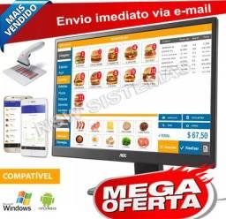 Título do anúncio: oferta sistema pizzaria lanchonete delivery p/ computador  e notebooks