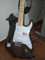 Guitarra Sx Stratocaster corpo ash