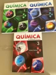Química 1, 2 E 3 - A Ciência Global ime ita (Arilson Martino)