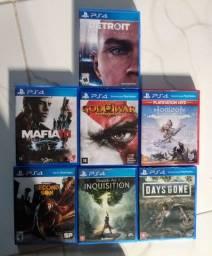 Jogos de PS4 usados ( em perfeito Estado)