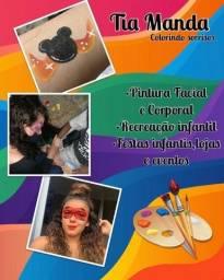 Título do anúncio: Pintura Artistica facial e serviços