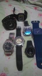 Relógios d varias marcas