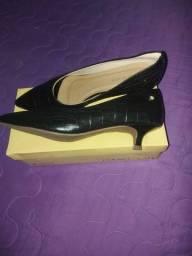 Título do anúncio: Sapato Couro Café Novo 37