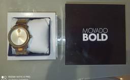 Título do anúncio: Relógio Movado Bold Vivara cor prata e dourado