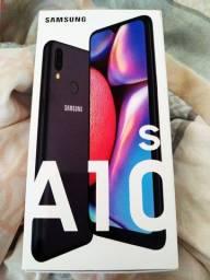 Samsung Galaxy A10s novo na caixa