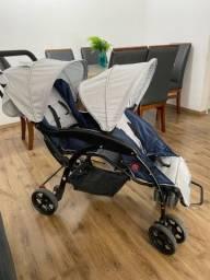 Título do anúncio: Carrinho de bebê DUPLO ou para gêmeos