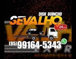 Título do anúncio: GUINCHO SEVALHO 24 horas RR