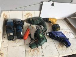 Lote de ferramentas elétricas