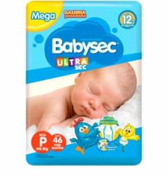 Fraldas Babysec Ultra séc 48 unidades P