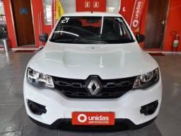 Título do anúncio: Renault Kwid Zen 1.0 4P 2021 completo e Km baixo
