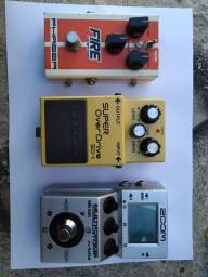 Pedal zoom ms50g e phaser fire