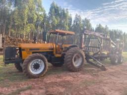 Título do anúncio:  Auto carregável florestal Tmo grua