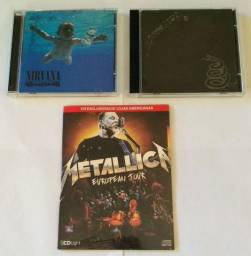 Cds Metallica European e Black - Nirvana.