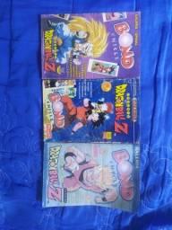 3 álbuns Dragonball Z Bond